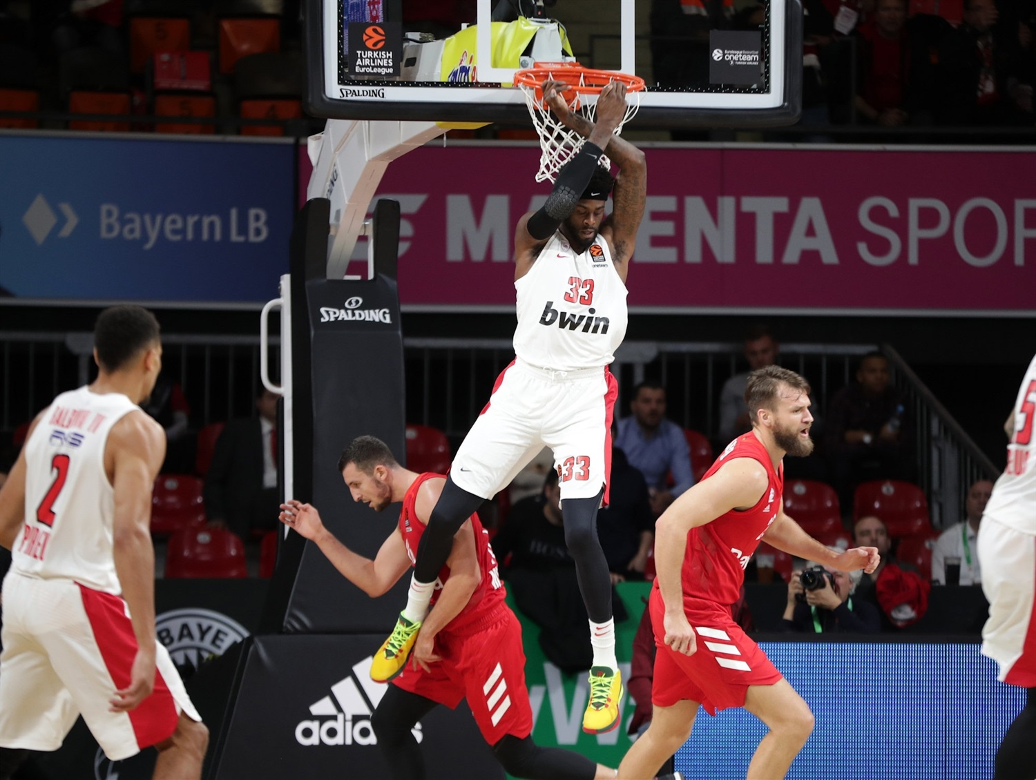 Willie Reed - Olympiacos Piraeus - EB19