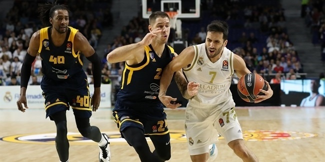 RS Round 9: Real Madrid vs. Khimki Moscow Region