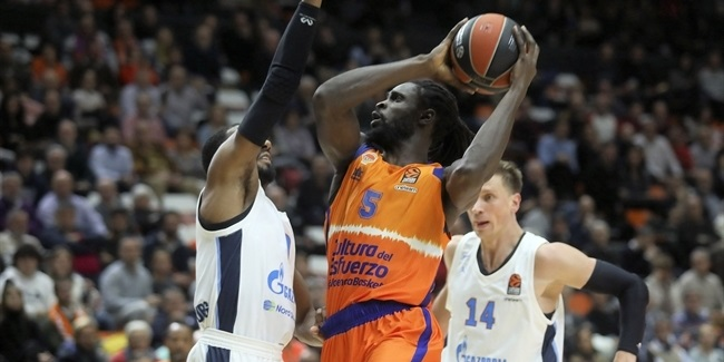 RS Round 9: Valencia Basket vs. Zenit St Petersburg