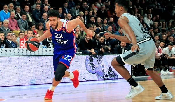 RS09 Report: Efes hands ASVEL first home defeat