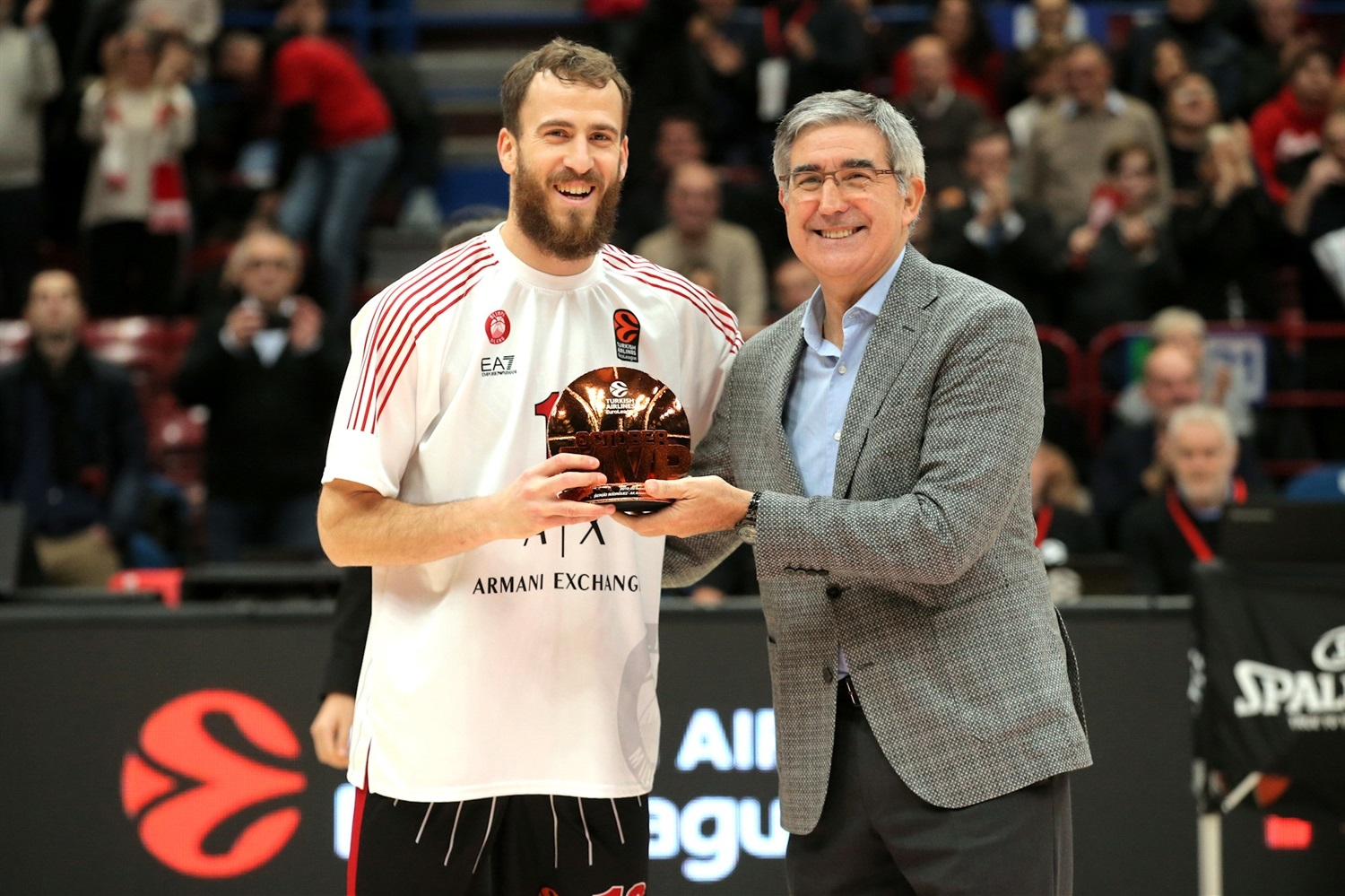Sergio Rodriguez, October MVP - AX Armani Exchange Milan - EB19
