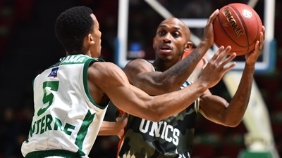 Jamar Smith, UNICS: 'You have to be really focused'