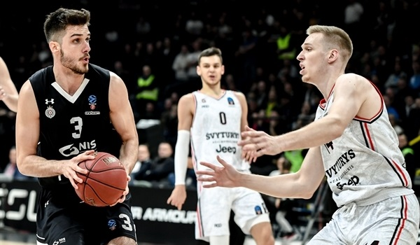 RS08 Report: Partizan punches its way to Top 16