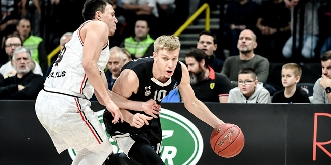 7DAYS EuroCup, Regular Season Round 8: Partizan NIS Belgrade vs. Rytas Vilnius