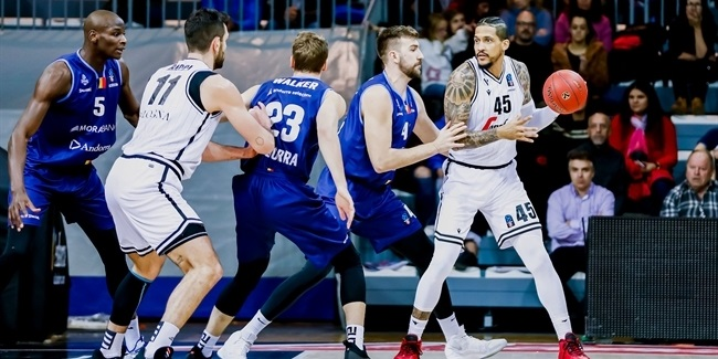 7DAYS EuroCup, Regular Season Round 8: MoraBanc Andorra vs. Segafredo Virtus Bologna