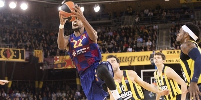RS Round 9: FC Barcelona vs. Fenerbahce Beko Istanbul