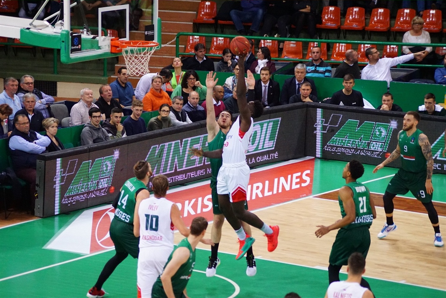 Johnny OBryant - Lokomotiv Kuban Krasnodar (photo Limoges) - EC19