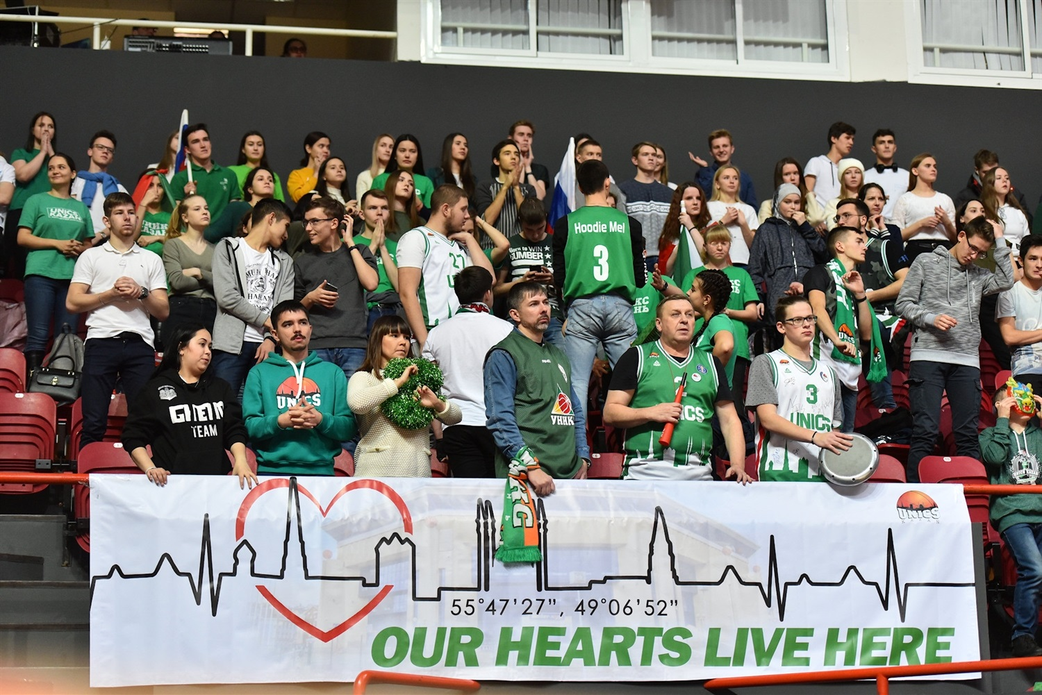 Fans - UNICS Kazan (photo UNICS) - EC19