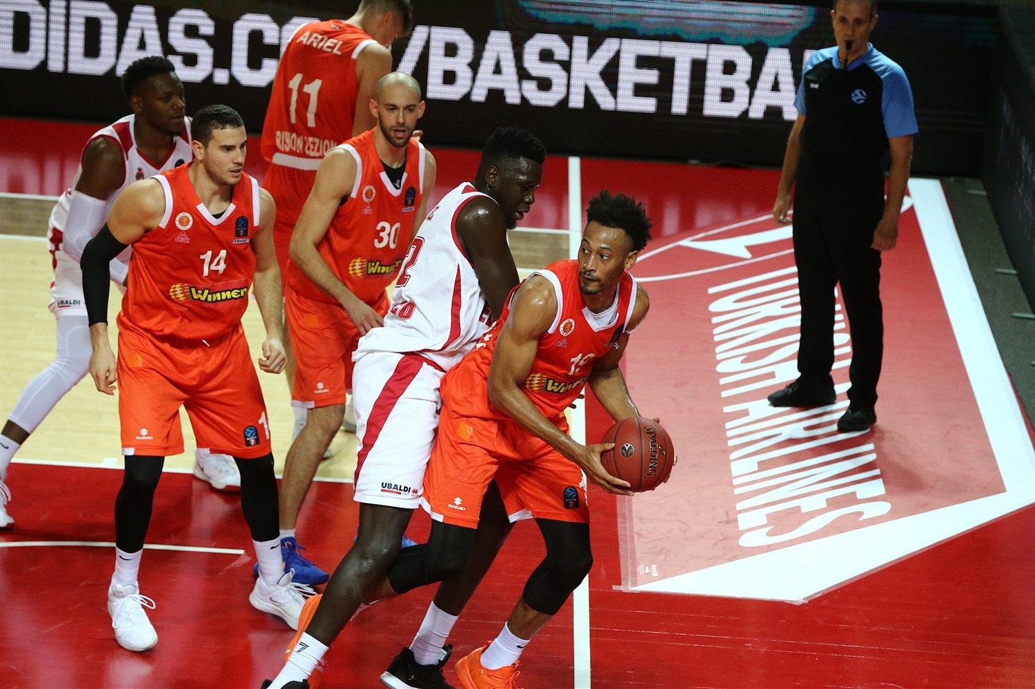Johnathan Williams - Maccabi Rishon LeZion (photo Monaco) - EC19
