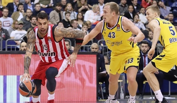 RS10 Report: Slick Olympiacos cruises past ALBA