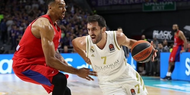 RS Round 10: Real Madrid vs. CSKA Moscow