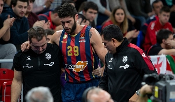 Baskonia's Garino suffers torn ACL