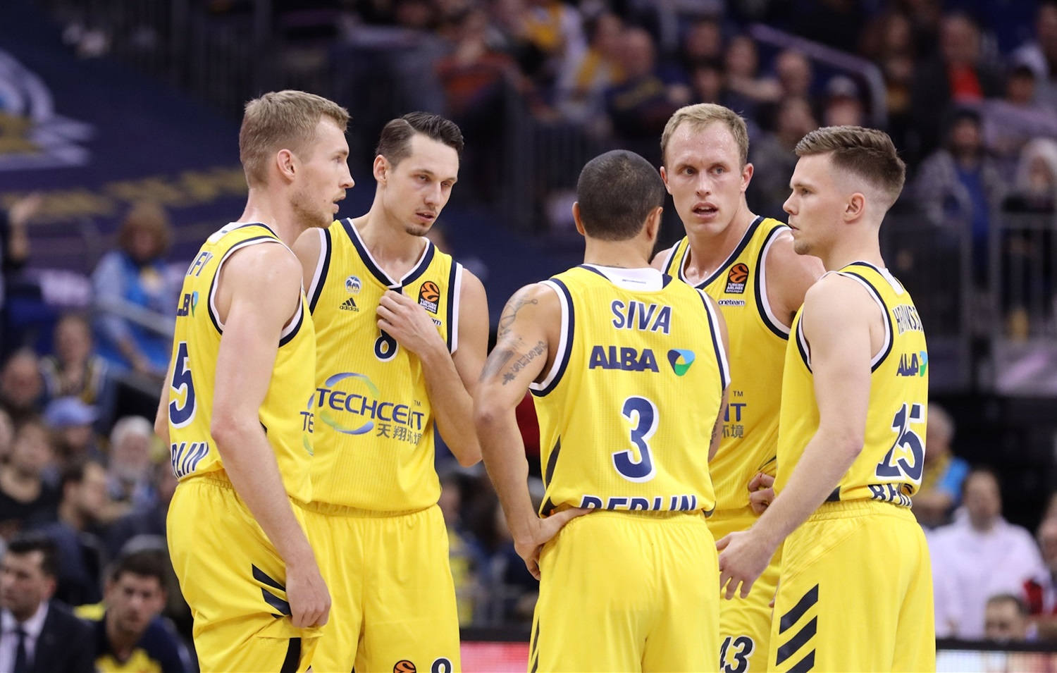 Players  ALBA Berlin - EB19