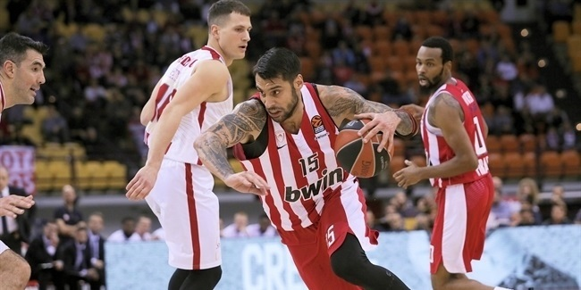RS Round 11: Olympiacos Piraeus vs. AX Armani Exchange Milan