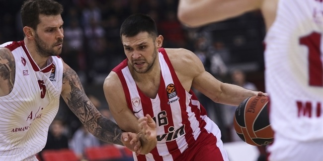 Papanikolaou helped Olympiacos win third in last four