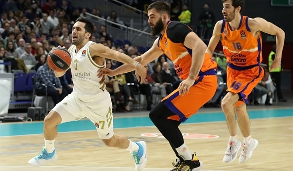 RS12 Report: Campazzo's 17 assists lead Real past Valencia