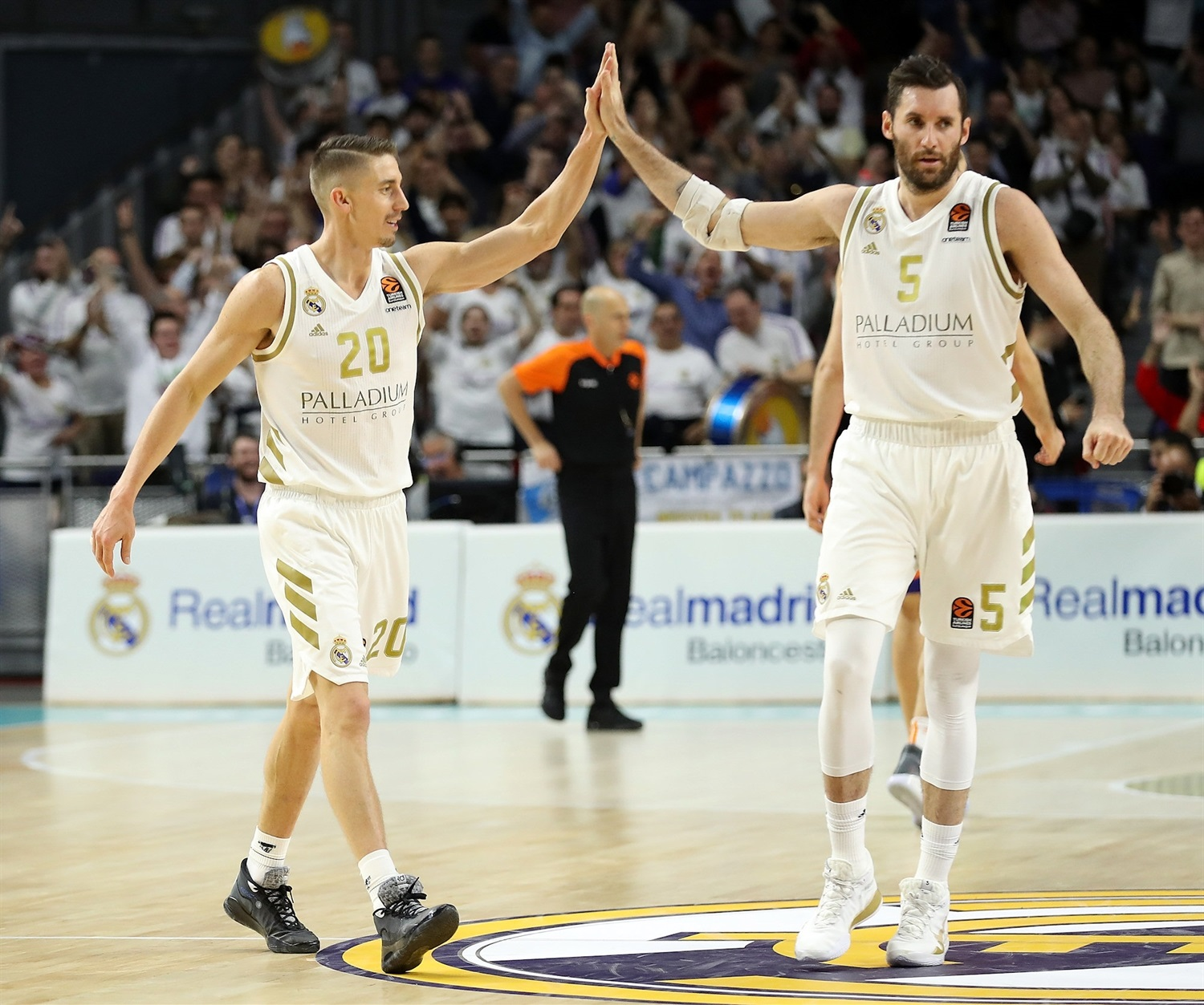 Rudy Fernandez celebrates - Real Madrid - EB19