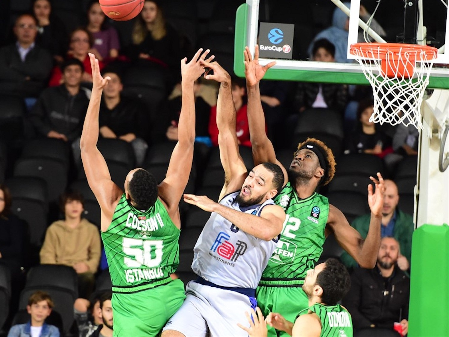 Tyler Cain - Germani Brescia Leonessa (photo Darussafaka) - EC19