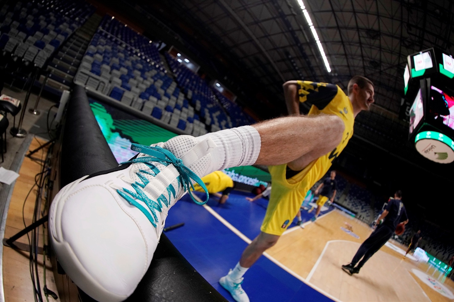 One Team Games - Unicaja Malaga vs. EWE Baskets Oldenburg (photo Mariano Pozo - Unicaja) - EC19