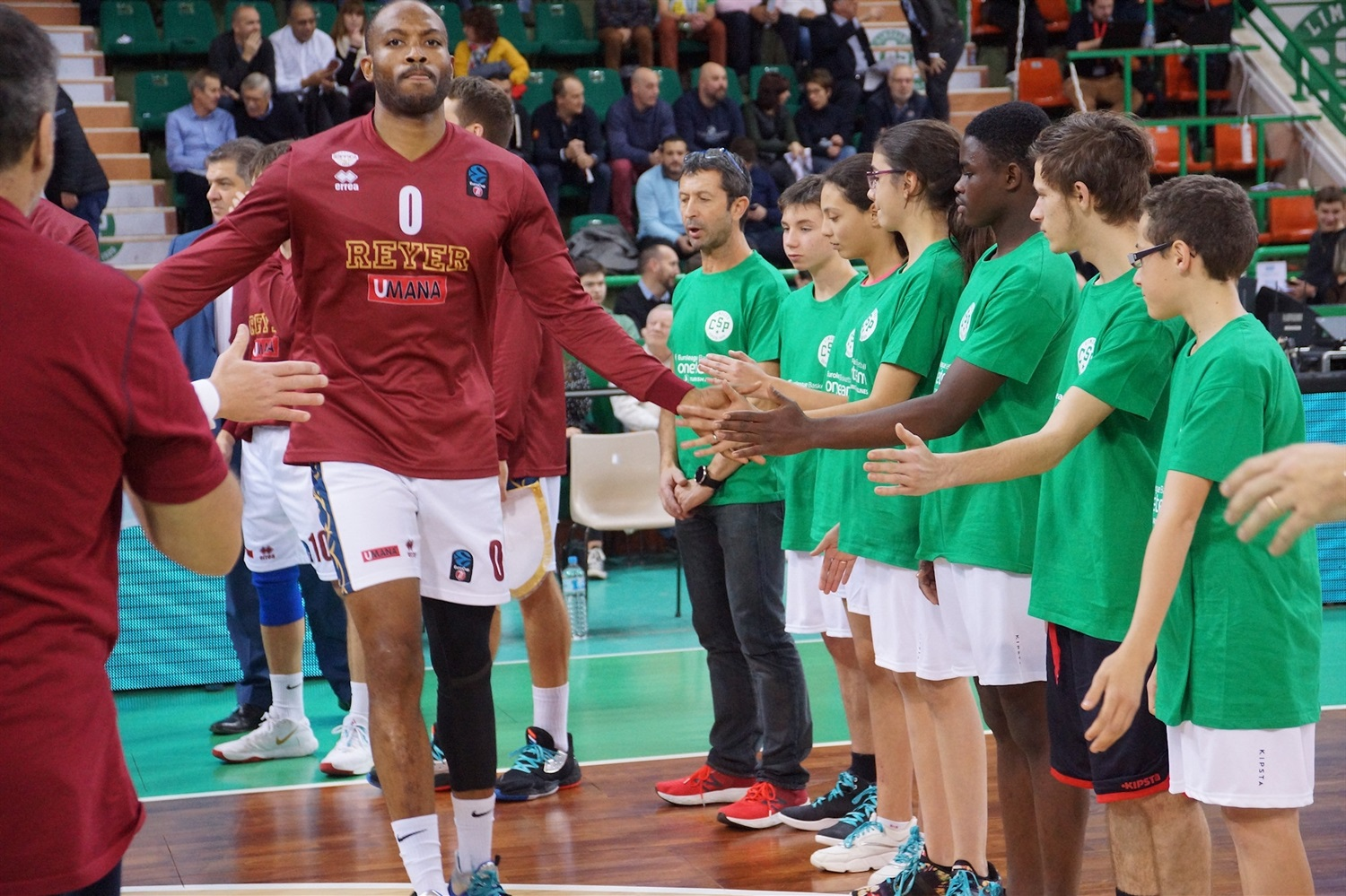 One Team Games - Limoges CSP vs. Umana Reyer Venice (photo Limoges) - EC19