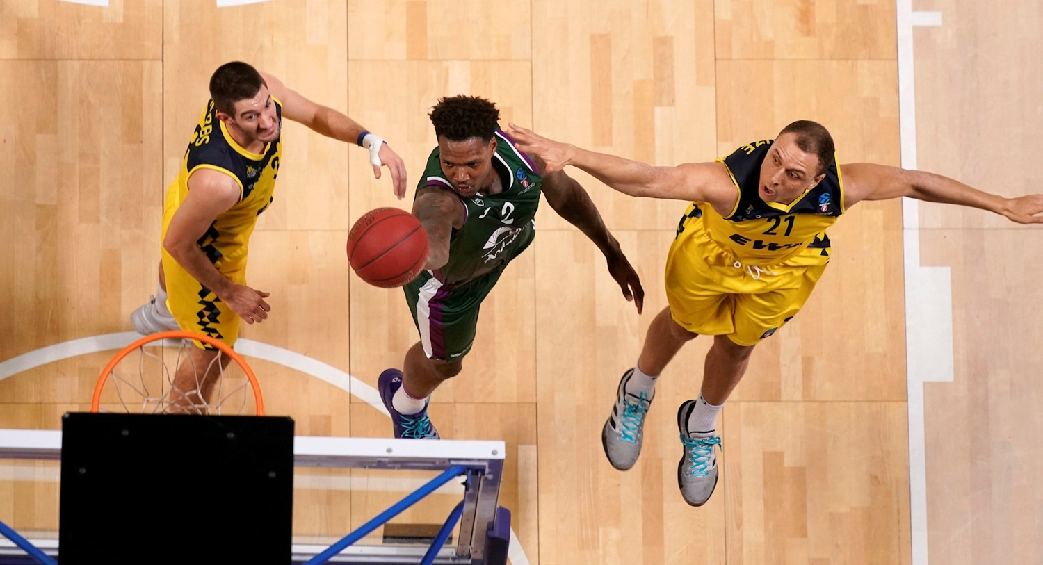 Deon Thompson - Unicaja Malaga (photo Mariano Pozo - Unicaja) - EC19
