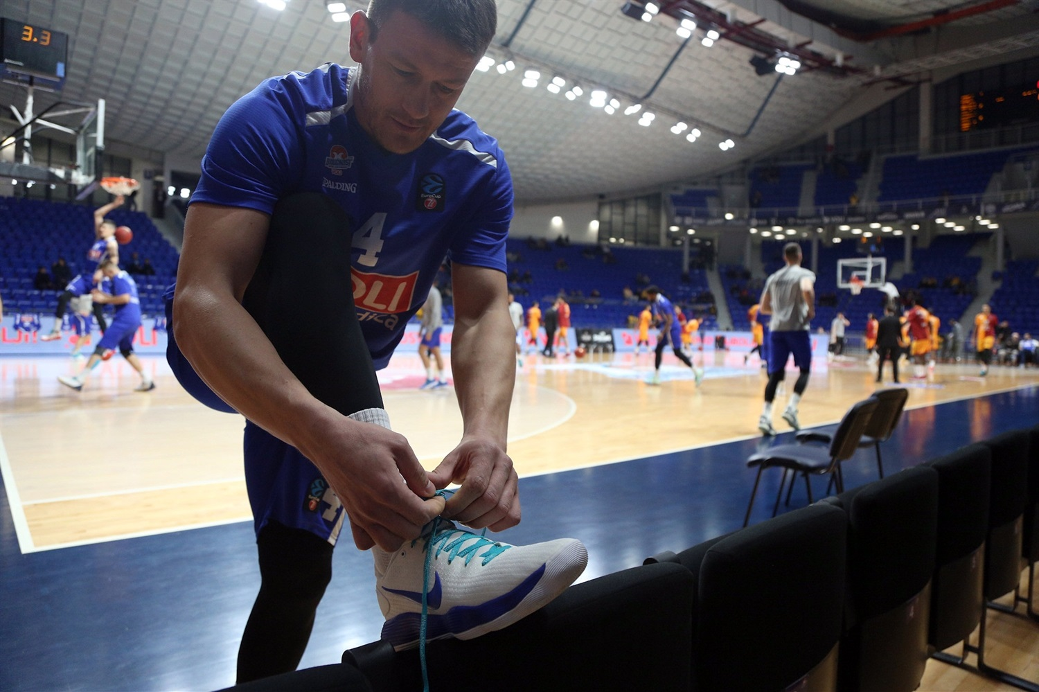 Suad Sehuvic, One Team Games - Buducnost VOLI Podgorica vs. Galatasaray Doga Sigorta Istanbul (photo Buducnost) - EC19