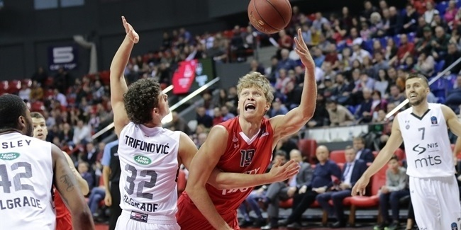 7DAYS EuroCup, Regular Season Round 9: Lokomotiv Kuban Krasnodar vs. Partizan NIS Belgrade