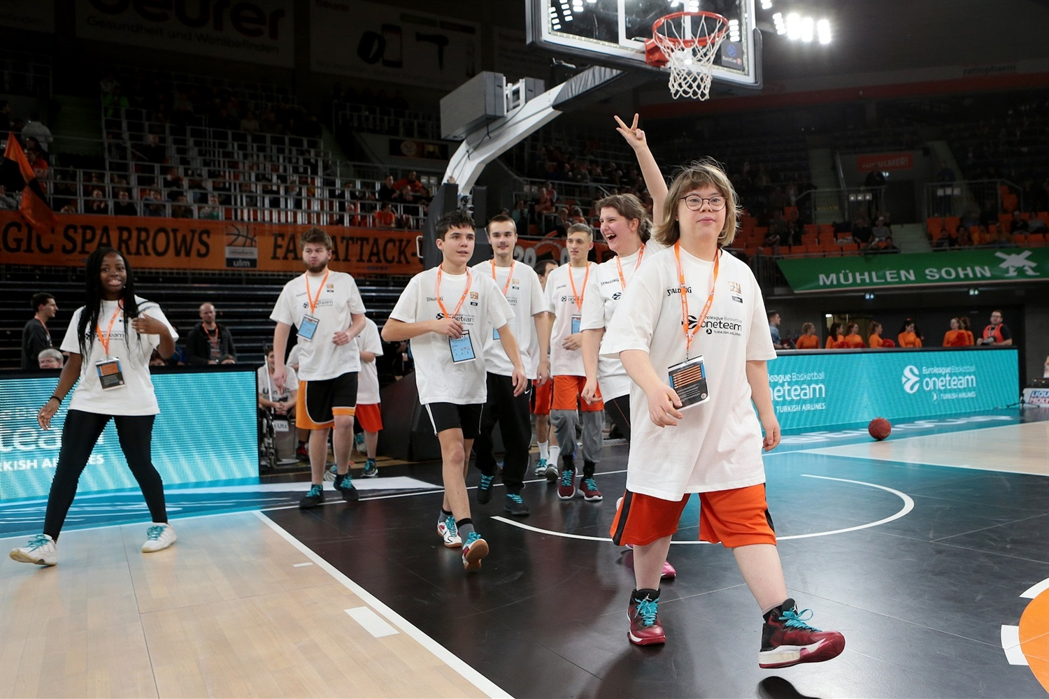 One Team Games - ratiopharm Ulm vs. AS Monaco (photo Harry Langer) - EC19
