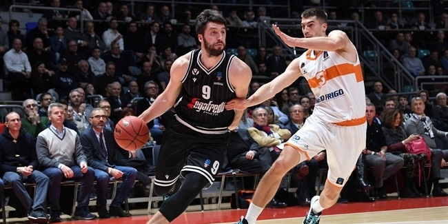7DAYS EuroCup, Regular Season Round 9: Segafredo Virtus Bologna vs. Promitheas Patras