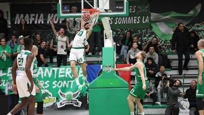 After trailing by 24, Nanterre rallies to stay alive