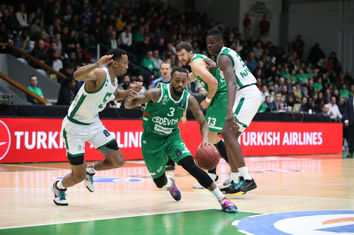 Ryan Boatright - Cedevita Olimpija Ljubljana (photo Nanterre) - EC19