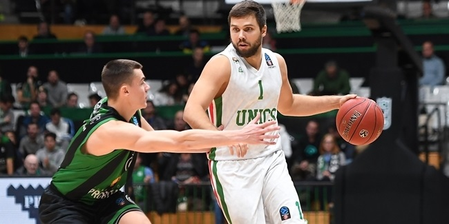 UNICS re-signs veteran guard Sergeev