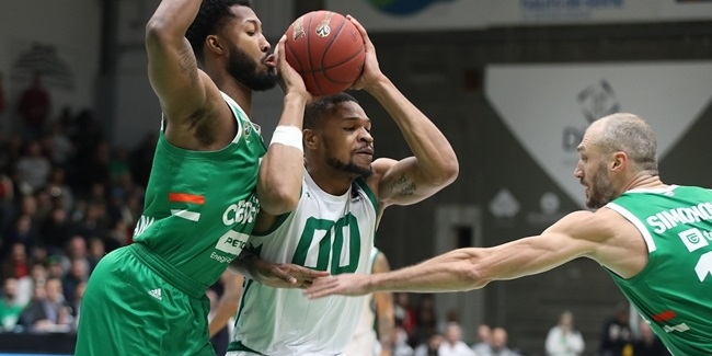 Down 24, Nanterre never quit