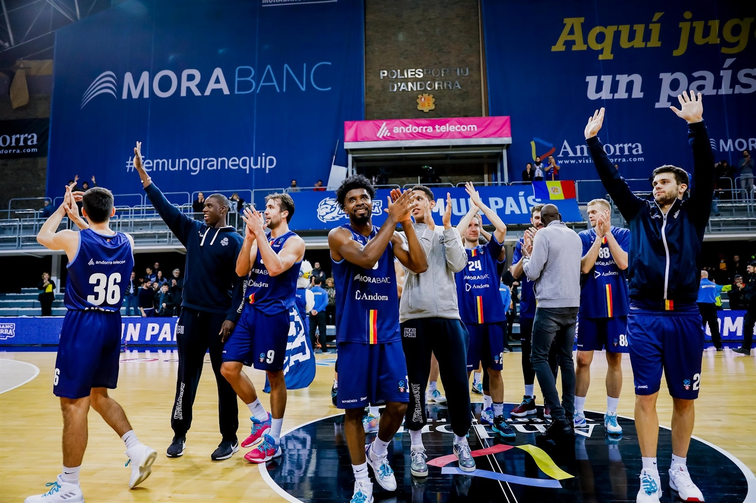 MoraBanc Andorra celebrates  (Photo Martin Imatge) - EC19