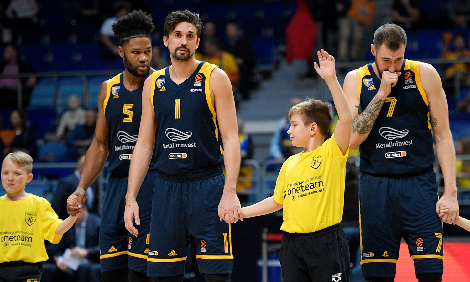 One Team Games - Khimki Moscow Region vs. ALBA Berlin - EB19