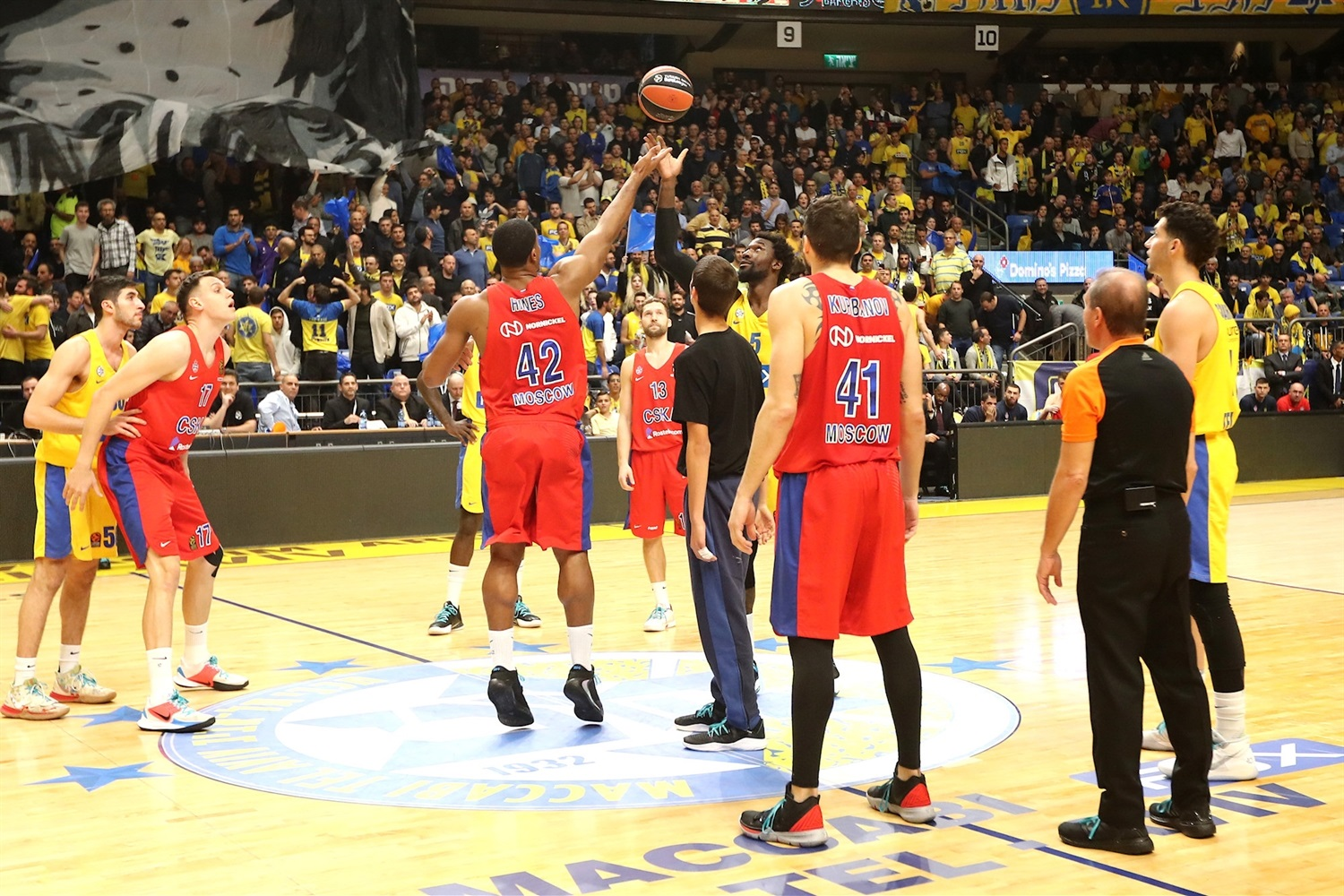 One Team Games - Maccabi FOX Tel Aviv vs. CSKA Moscow - EB19