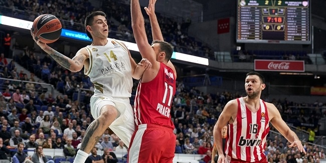 RS Round 13: Real Madrid vs. Olympiacos Piraeus