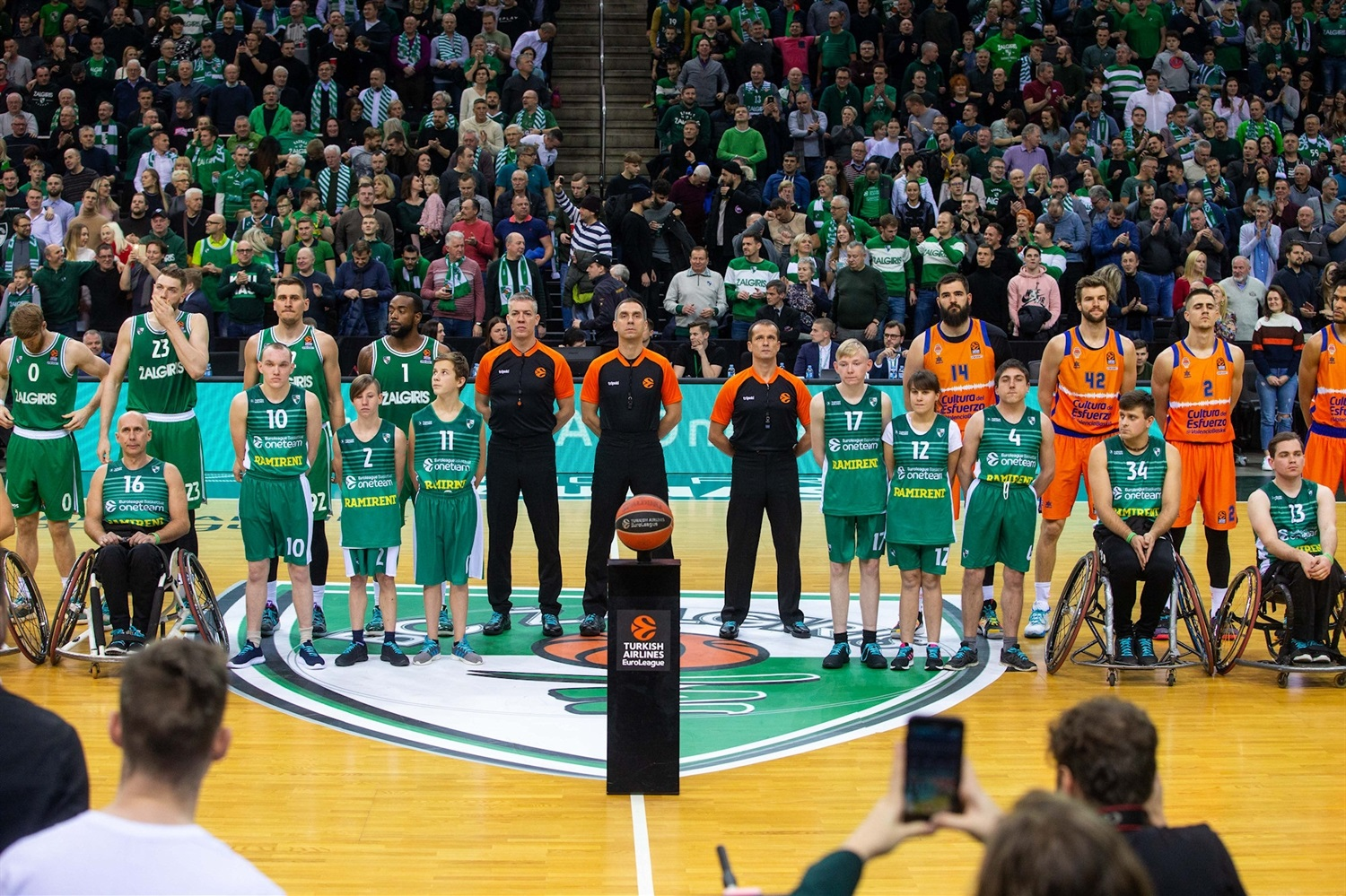 One Team Games - Zalgiris Kaunas vs. Valencia Basket - EB19