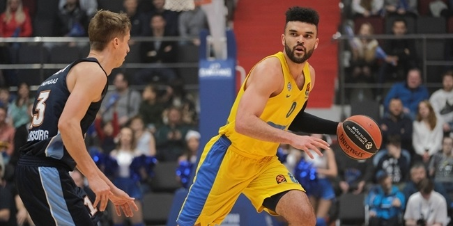 RS Round 14: Zenit St Petersburg vs. Maccabi FOX Tel Aviv
