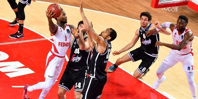 7DAYS EuroCup, Regular Season Round 10: AS Monaco vs. Segafredo Virtus Bologna