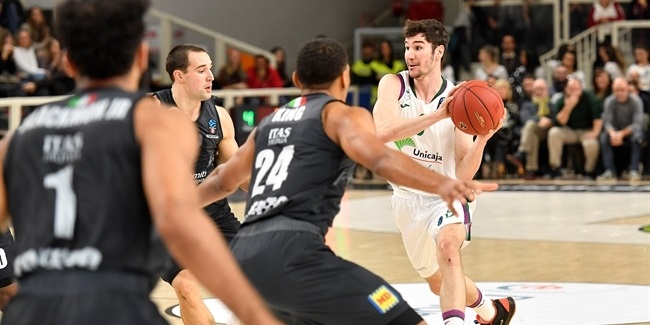 7DAYS EuroCup, Regular Season Round 10: Dolomiti Energia Trento vs. Unicaja Malaga