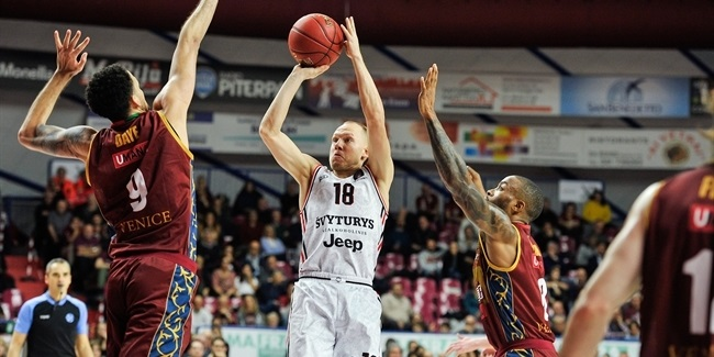 7DAYS EuroCup, Regular Season Round 10: Umana Reyer Venice vs. Rytas Vilnius
