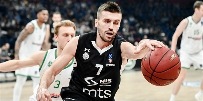 7DAYS EuroCup, Regular Season Round 10: Partizan NIS Belgrade vs. Limoges CSP