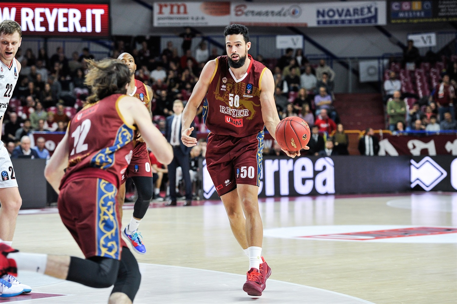 Mitchell Watt - Umana Reyer Venice (photo Reyer) - EC19
