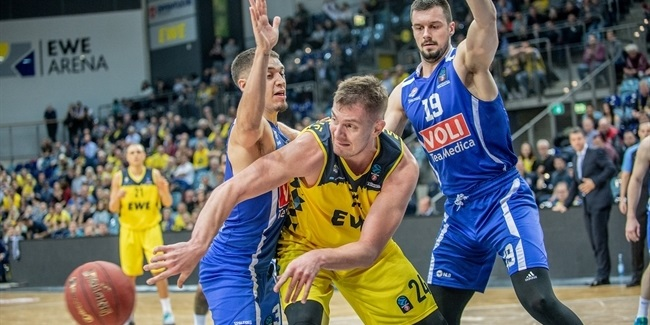 7DAYS EuroCup, Regular Season Round 10: EWE Baskets Oldenburg vs. Buducnost VOLI Podgorica