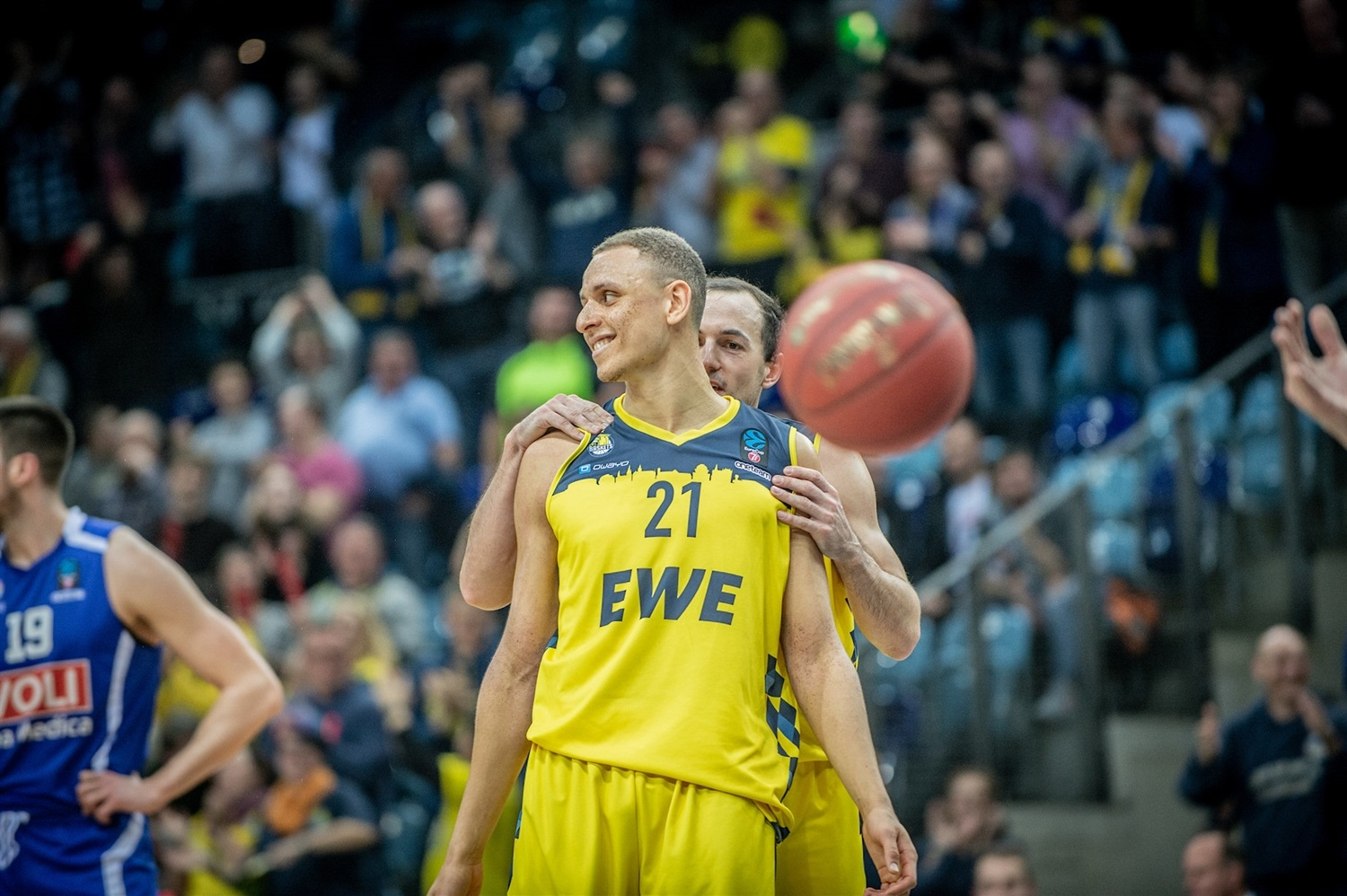 Robin Amaize - EWE Baskets Oldenburg (photo Erik Hillmer) - EC19