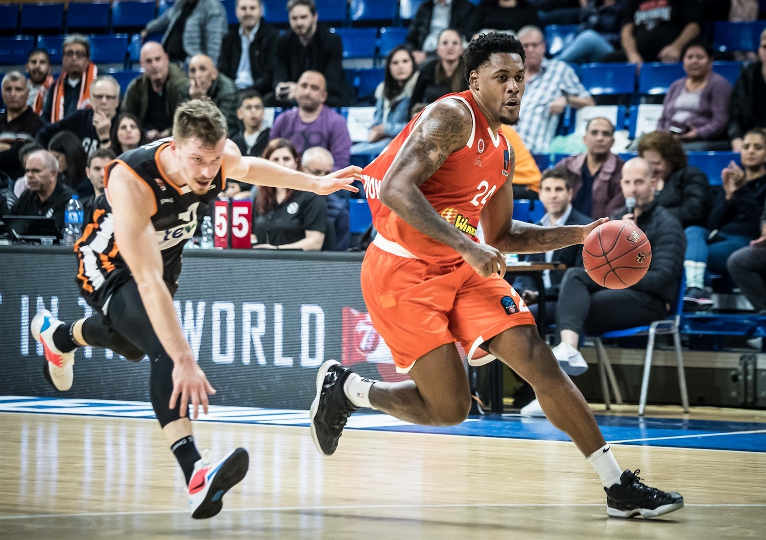 James Kelly - Maccabi Rishon Lezion (photo Rishon) - EC19
