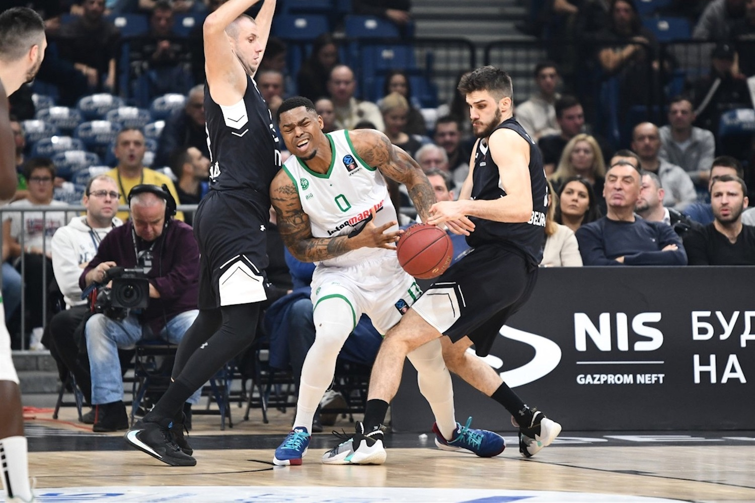 Benoit Mbala - Limoges CSP (photo Partizan) - EC19