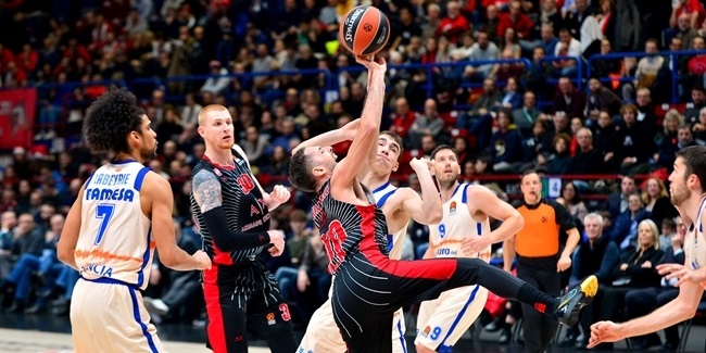 RS Round 15: AX Armani Exchange Milan vs. Valencia Basket