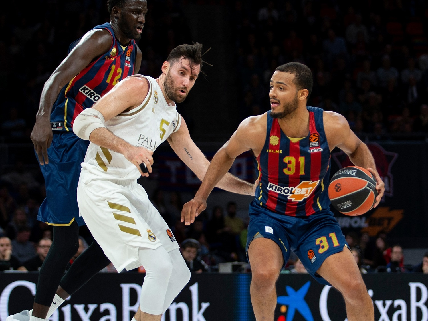 KIROLBET Baskonia Vitoria-Gasteiz vs. Real Madrid - Game